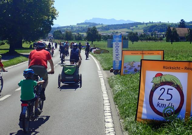 Banner in freier Wildbahn