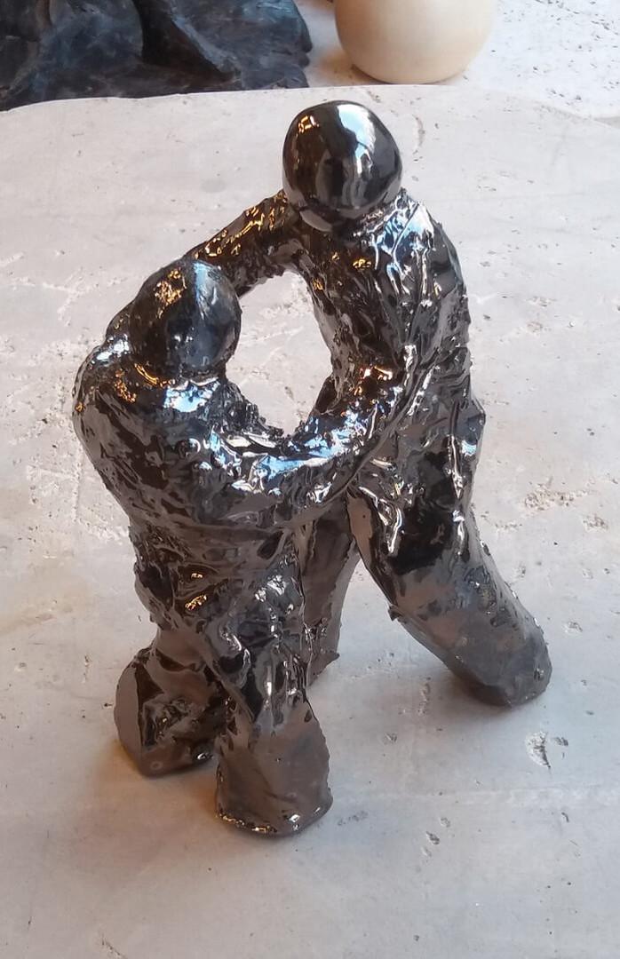 sculpture paris combat