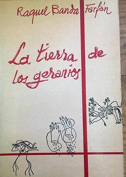 LA TIERRA DE LOS GERANIOS_Raquel Banda F