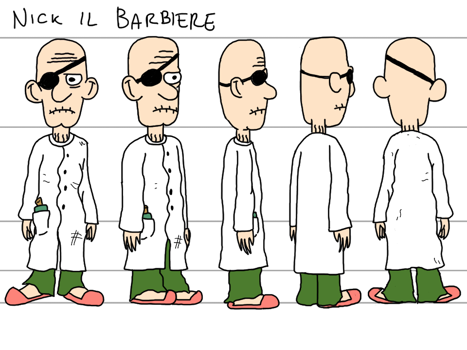 Nick Il Barbiere - Turn Around.png