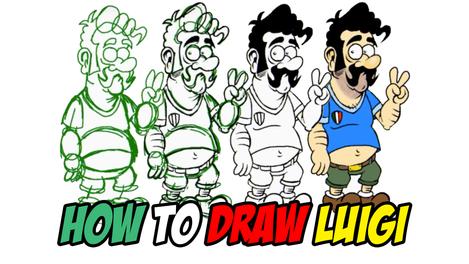 How To Draw Luigi | (2012)