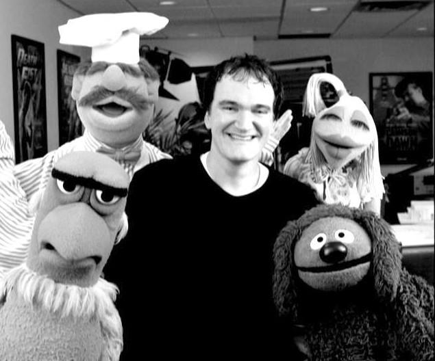 Quentin Tarantino Muppet