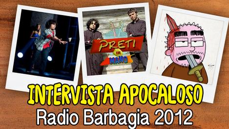 Radio Barbagia (Intervista)   2012