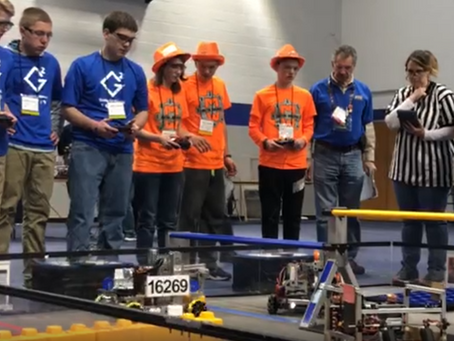 Guthrie Geeks land 4th place at South Central PA Qualifier