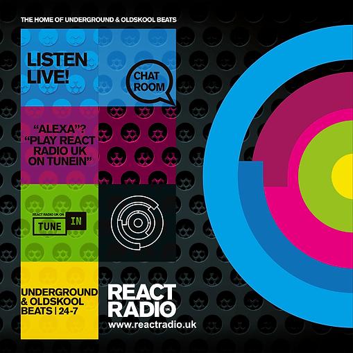 React Radio UK Design Stage 3-Social Squ
