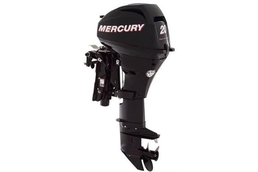 Mercury 20EH 4 stroke 20 HP Outboard Motor -2018 | Turbomarines
