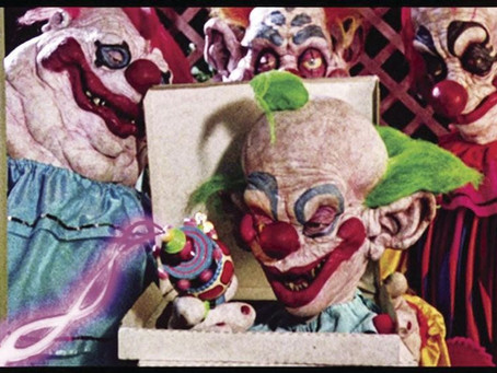 Killer Klowns From Outer Space(1988)(Review)[Weirdo Wednesday]