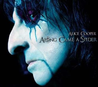 Alice Cooper - Along Came A Spider(Review)[Musical Monday]