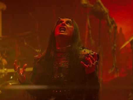 Crawling King Chaos - Cradle of Filth(Official Music Video)(Review)[Musical Monday]