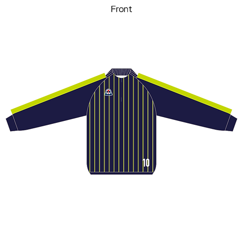 LES sublimation half zip Jersey(Piping type) 03