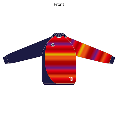 LES sublimation half zip Jersey(Piping type) 04