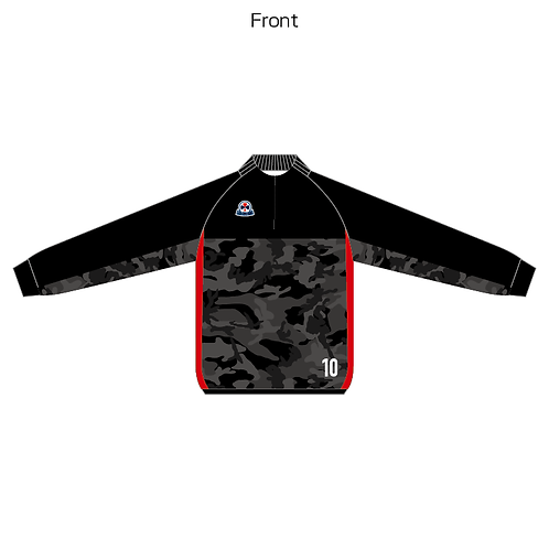 LES sublimation half zip Jersey(Piping type) 05