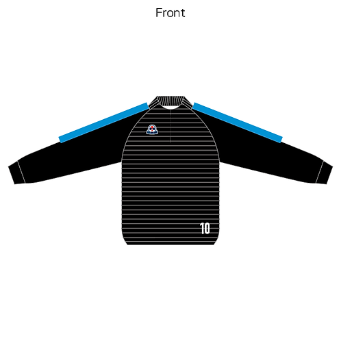 LES sublimation half zip Jersey(Piping type) 01