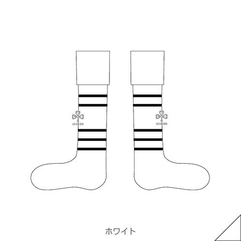 Normal border socks