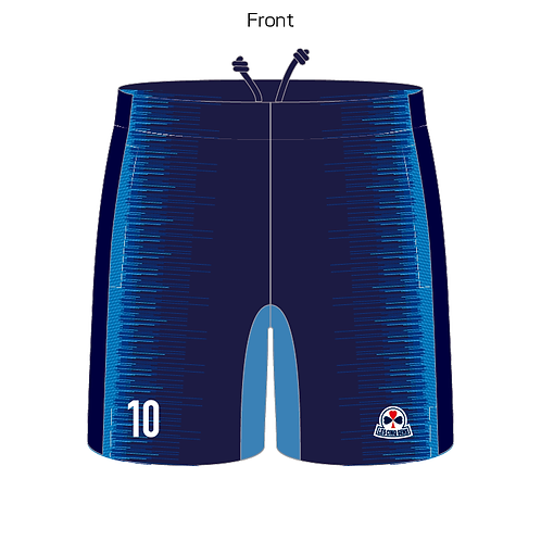 sublimation pocket short pants 19
