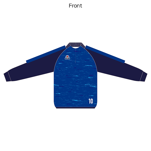 LES sublimation half zip Jersey(Piping type) 06