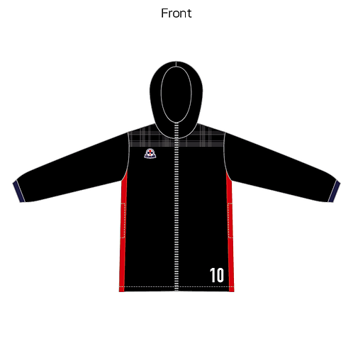 LES sublimation warmer half coat 18