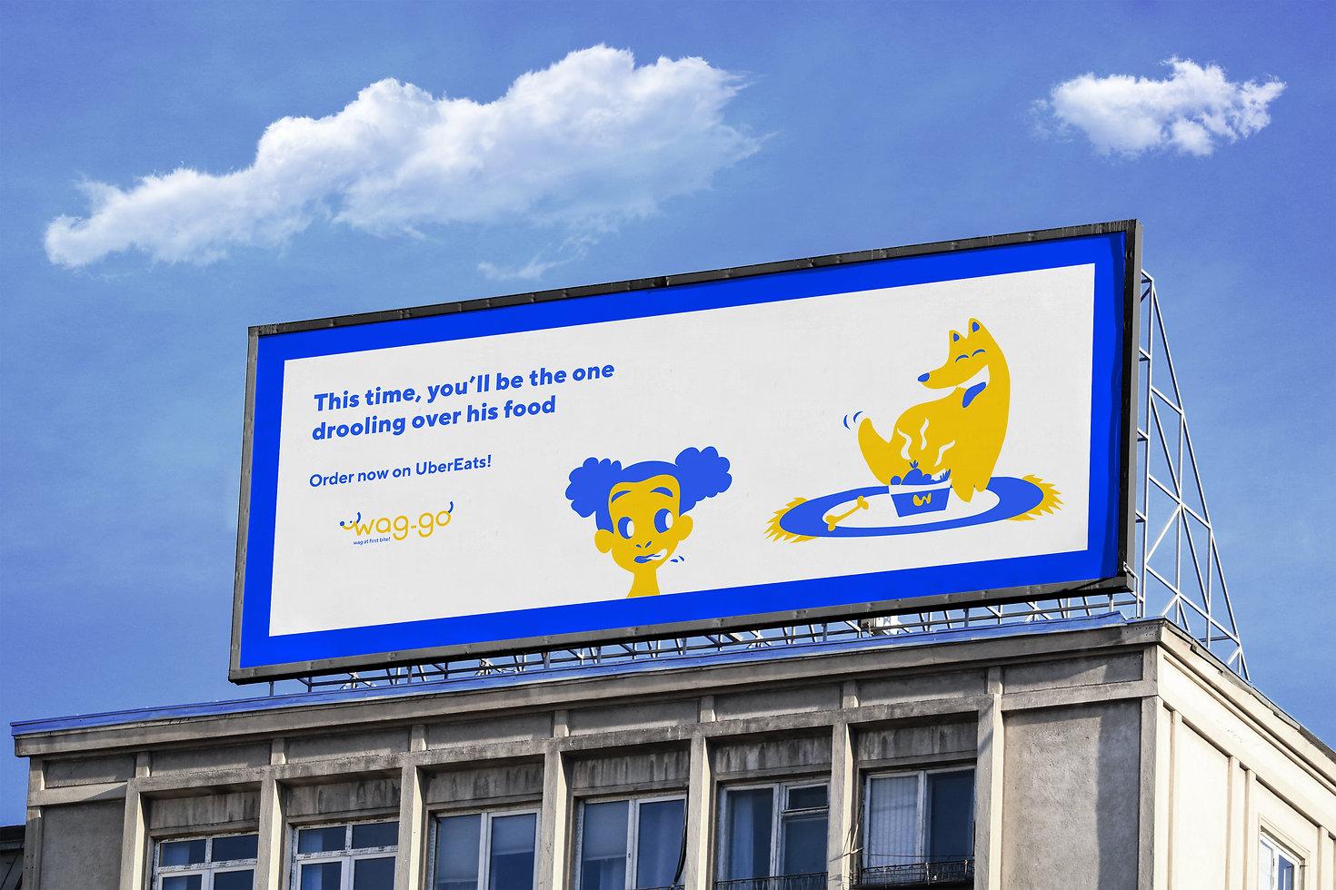Horizontal billboard
