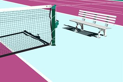 racquetmag Illustration