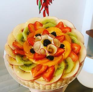Mixed Fruit Tart  $5/portions