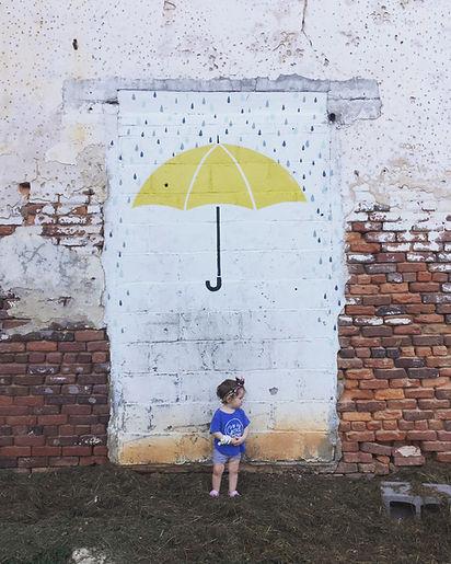 Umbrella Mural
