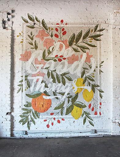 Do Good Things Mural