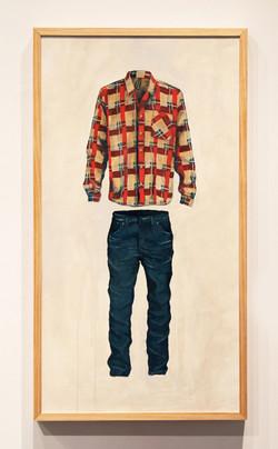 Uniform Conform | acrylic on wood panel