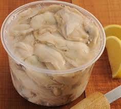 Frozen Shucked Oysters (price per pint)