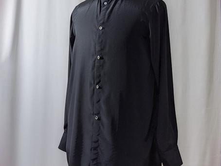 ヴィスコースのメンズシャツ