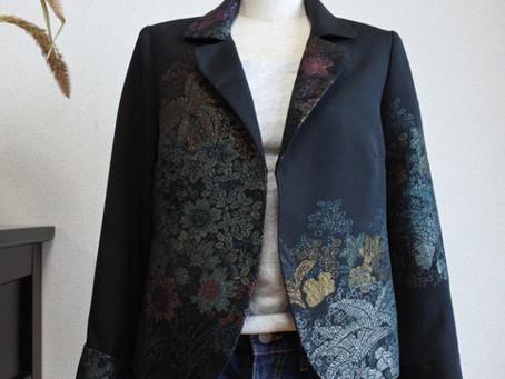 羽織リメイクジャケット