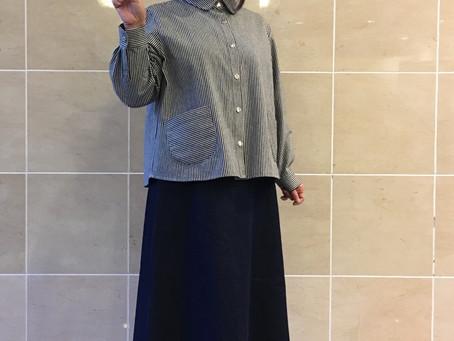 大人の可愛いブラウス&スカート