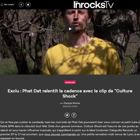 """En exclu sur Les Inrocks , le clip  """"Culture shock"""" de Phat dat"""