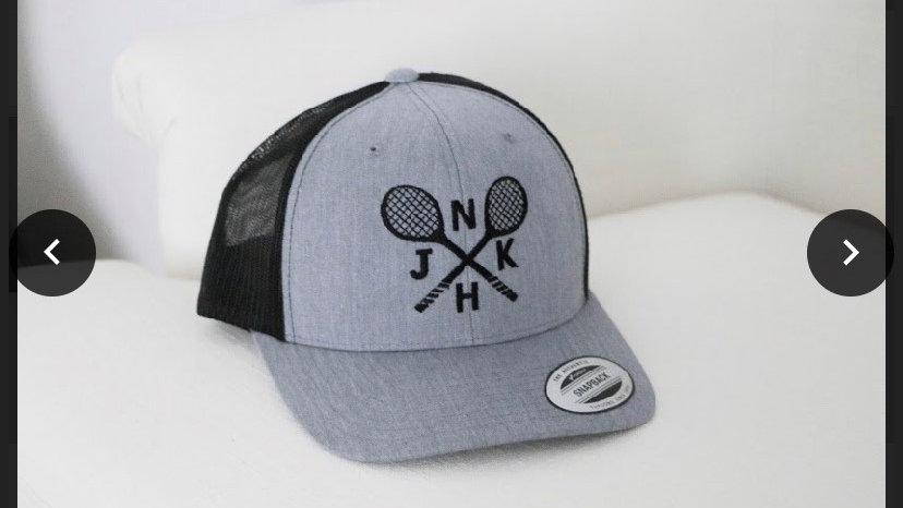 NJKH grey/black baseball cap