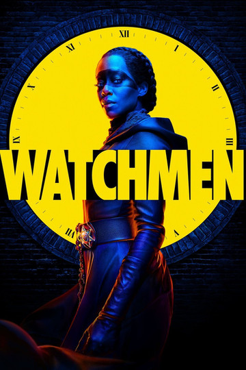 Image of Regina King dressed as character from Watchmen Show