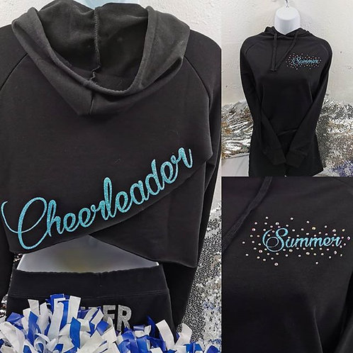 Crossover Cropped Hoody
