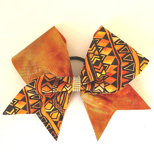 Personalised Tribal Tick Tock Bow