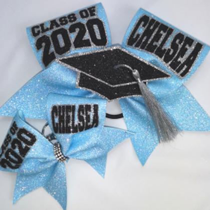 Coaches Room Graduation Bow Sets