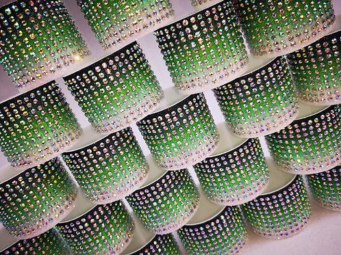 Ombre Glitter Cuff