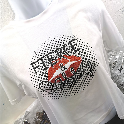 Fierce & Sassy Logo Full T-Shirt