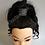 Thumbnail: Coaches Room Glitter Rhinestone Hair Cuff