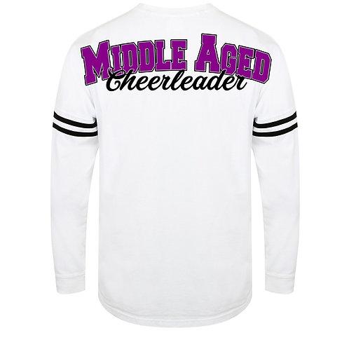 Middle Aged Cheerleader Spirit Jersey