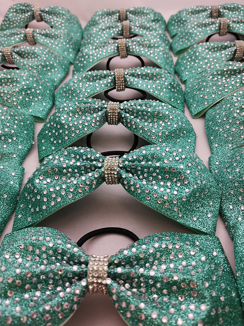 Tailless Summer Glitter Rhinestone Bows