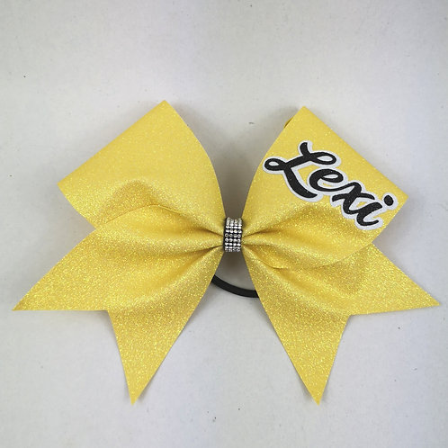 Glitter Cheer bow