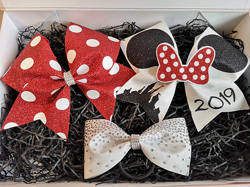Minnie Ears Cheer Bow Bundle