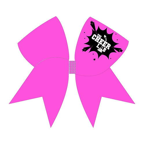 Cheer Lab Glitter Cheer Bow