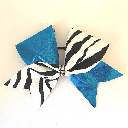 Personalised Zebra Turquoise