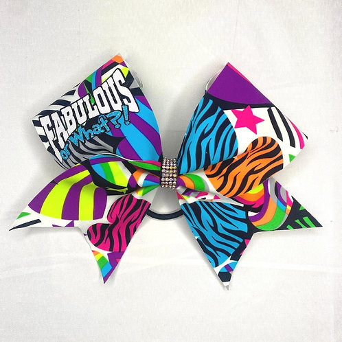 Fabulous or What?! Cheer Bow