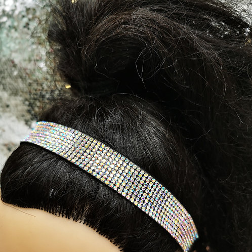 Elasticated Diamante Headband