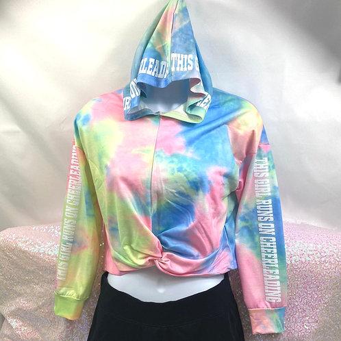 This Girl Tie Dye Hood