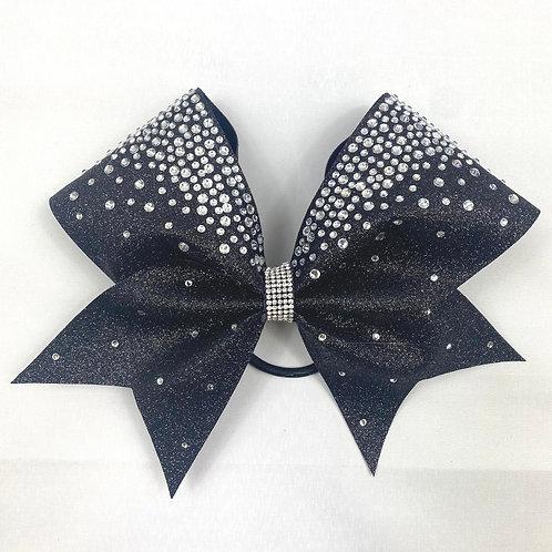 Plain Glitter Frostie Cheer bow